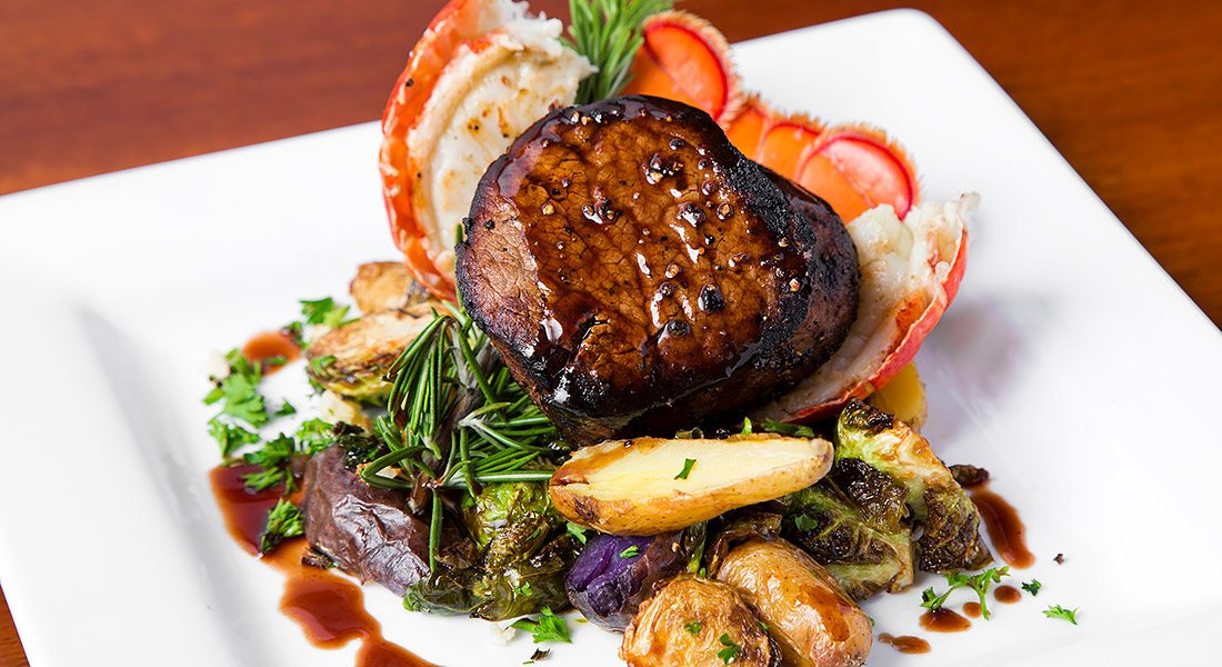 CherrySTONES Surf & Turf pairs a fresh Maine lobster tail with our ...